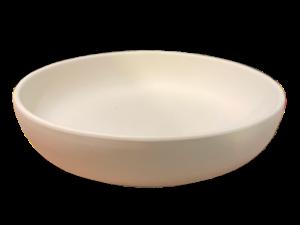 Keramik zuhausemalen.de | Schale Diskus ø 27cm Höhe 5cm ( Farbgröße L) Schüsseln&Schalen