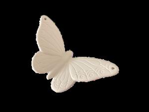 Keramik zuhausemalen.de | Aufhänger Schmetterling (Farbe Größe S) Figuren