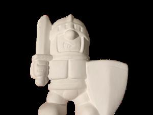 Keramik zuhausemalen.de | Ritter (Farbgröße S) Figuren