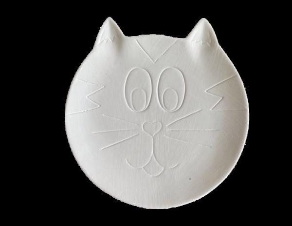 Keramik zuhausemalen.de   Teller Kitty ø 18cm(Farbgröße M) Teller