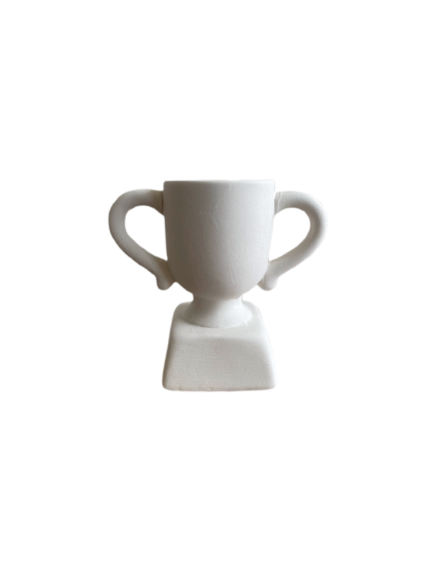 Keramik zuhausemalen.de | Minipokal Höhe 7,5cm (Farbgröße XS) Allerlei Utensilien