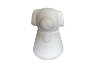 Keramik zuhausemalen.de | Wau Streuer (Farbgröße XS) Für den Tisch