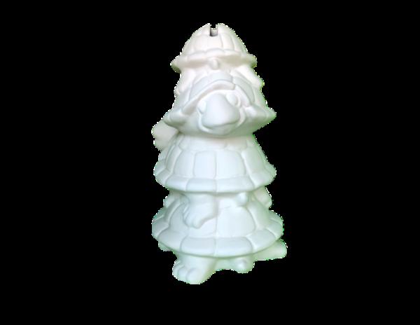 Keramik zuhausemalen.de | Schildkrötenstapel Spardose ( Farbgröße L) Spardosen