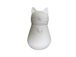 Keramik zuhausemalen.de | Miau Streuer (Farbgröße XS) Für den Tisch