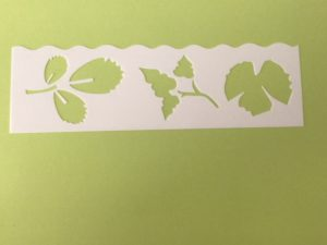 "Keramik zuhausemalen.de | Schablone ""Floral"" Motiv C Schablonen & Stempel"
