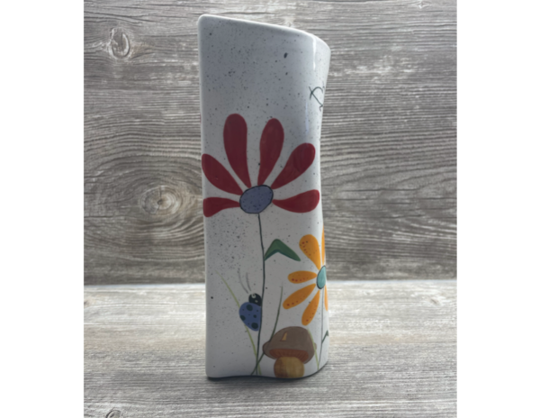 Keramik zuhausemalen.de | Zerdrückte Vase (Farbgröße L) Vasen
