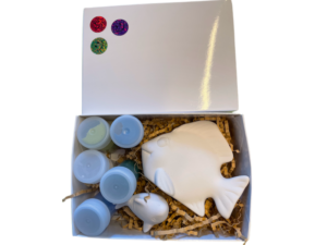 Keramik zuhausemalen.de | Geschenk-Set Fisch Geschenk-Boxen