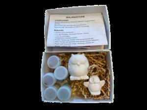 Keramik zuhausemalen.de | Geschenk-Set Eule Geschenk-Boxen