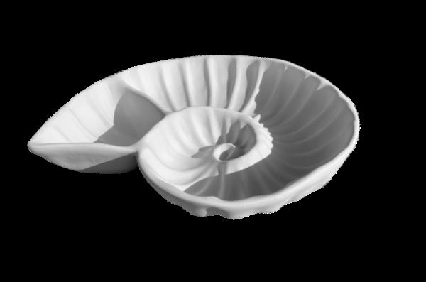 "Keramik zuhausemalen.de | Schale ""Nautilus""Chip & Dip (Farbgröße L) Schüsseln&Schalen"