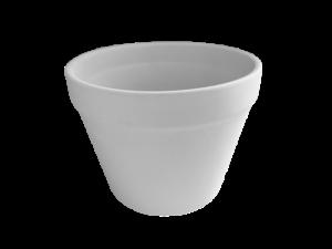 Keramik zuhausemalen.de | Übertopf mit Rand  groß (Farbgröße L) Allerlei Utensilien